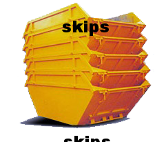 different skip sizes
